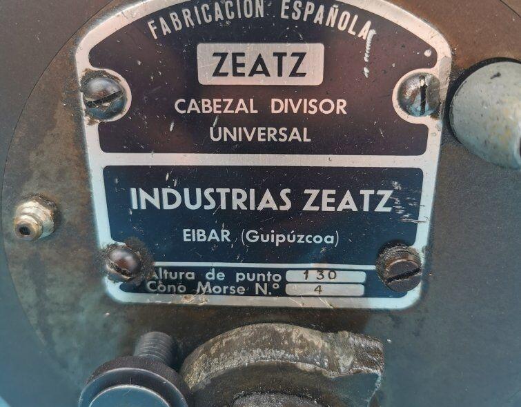 ZEATZ UNIVERSAL DIVIDER HEAD