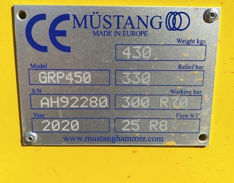 MUSTANG GRP450 GRIPPER