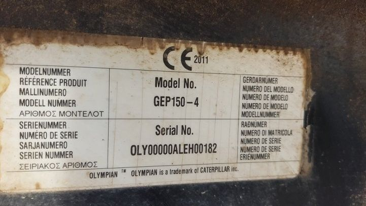 CATERPILLAR GEP 150-4
