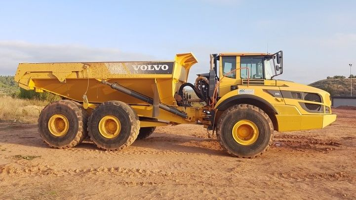 Used VOLVO  A40G